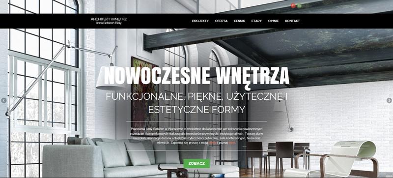 Architekt Ilona Sobiech Biały