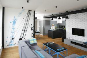 Pomysły na aranżację niewielkiego salonu