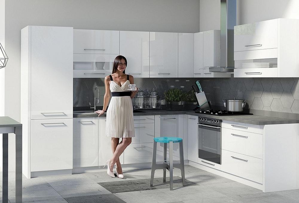 Meble do kuchni - Jak wybrać ? big_creativa-bialy-polysk-2
