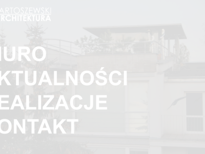 Bartoszewski-Architektura
