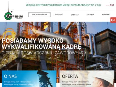 Centrum Projektowe Miedzi Cuprum-Projekt Spółka z o.o.