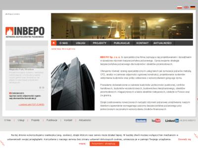 Inbepo Sp. z o.o. Inżynieria Bezpieczeństwa Pożarowego