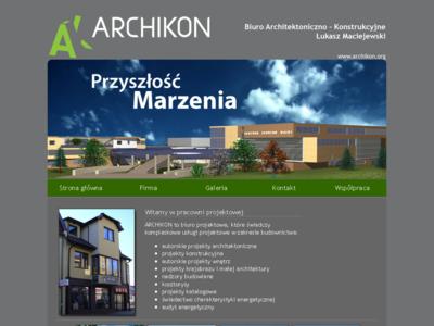 Archikon Biuro Architektoniczno-Konstrukcyjne Łukasz Maciejewski