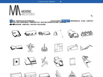 projekotwanie wnętrz modero architekci
