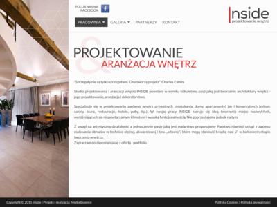 Inside-projektowanie i aranżacja wnetrz Aleksandra Majtka