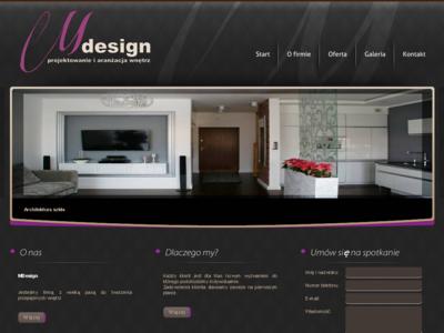 Mdesign projektowanie i aranżacja wnętrz wnętrz