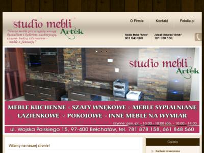 STUDIO MEBLI  ARTEK SIARKOWSKI ARTUR